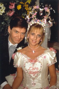 TV wedding: Alice Tinker and Hugo Horton from The Vicar of Dibley