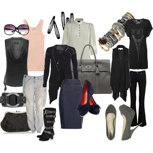 Weekend in the City : 3 Looks for a Fall Getaway by missspite featuring black tops