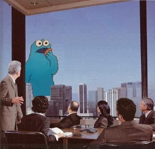 Its … Its … The COOKIE MONSTA !