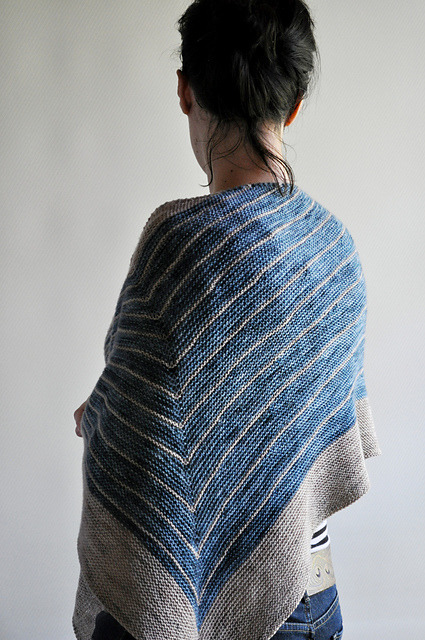 spunkyarn:  Pattern | Stripe Study Shawl by Veera Välimäk Yarn | The Uncommon Thread Lush Sock  Colourways | Bassenthwaite & Tea Smocked Blog | Skeinyarns blog Stunning shawl … beautiful yarn & lovely execution.