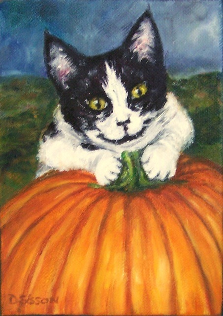 "Debra Sisson ""Pumpkin Lover"""