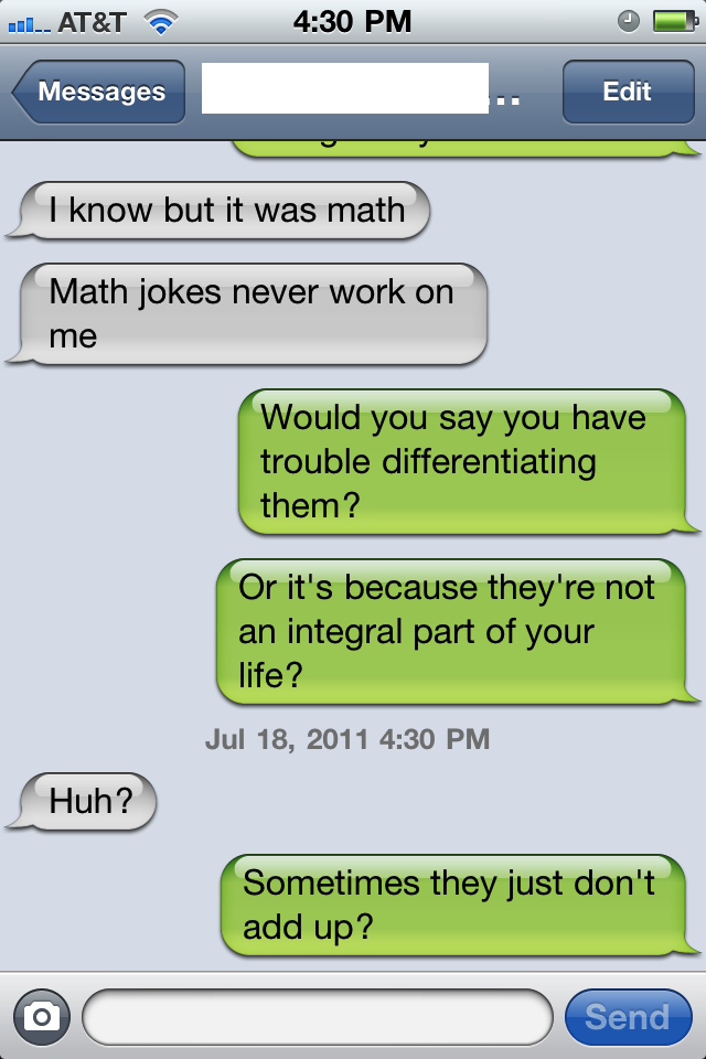oh math jokes, you're so funny