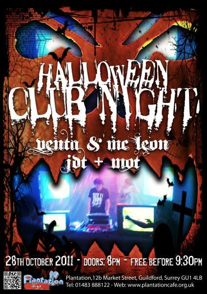 Hey there everybody.  Got a sick club night going on tomorrow night.  Come down if you can.  Free entry between 8-9.30  £1.50 on the door after that.  WOOO DISCO!