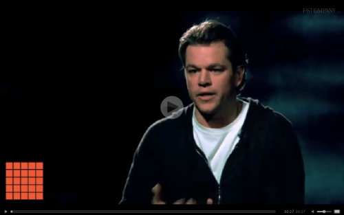 How do you create change? Matt Damon says a big part of it is about taking ownership, individually and collectively. A lot of this advice could be applied to today's political climate as well. Take 30 seconds and see for yourself. See More From 30 Second MBA.