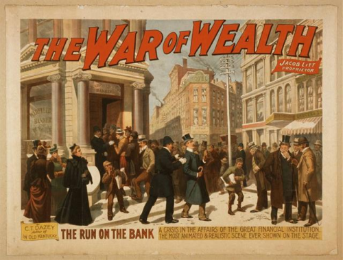 History repeats itself.   By 1910 the richest 10% of the population owned 90% of the nation's wealth.  Working people took notice.  Between 1880 and 1900 there were more than 30 thousand strikes involving 6 million workers, nearly a third of the entire industrial workforce!  The period between 1875 and 1900 was the just the first phase of a protracted conflict between working people and capitalists over how much of the wealth created by industrialization would be shared with the laboring classes.