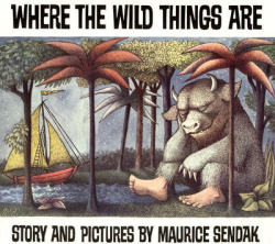 Where the Wild Things Are by Maurice Sendak Again this book was brought for me by a friend (I think she is trying to hint that I'm still a kid).  Awhile I can see the attraction to this book for kids…I was left wanting more…maybe it is because I have seen the film Where the Wild Things Are and loved that so much that the book just wasn't the same.