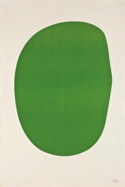 "Ellsworth Kelly ""Green"""