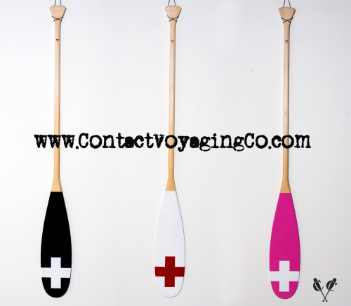 New Contact Voyaging Co. Cross Paddles Now in stock!
