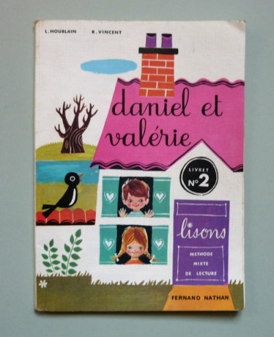 Daniel et Valérie book, illustrated by Nina Morel (via MyVintageAvenue)