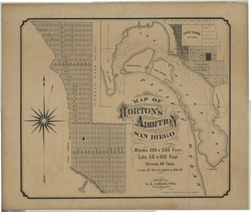 ucsdspecialcollections:Map of Horton