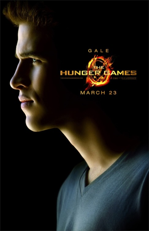 'The Hunger Games' Exclusive Character Poster: Gale  Boy, you are looking fine.