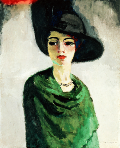 Kees van Dongen, Woman in a Black Hat