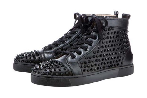 Already got the Christian Louboutin Rollerball Spikes but these sneakers will round off the collection nicely.