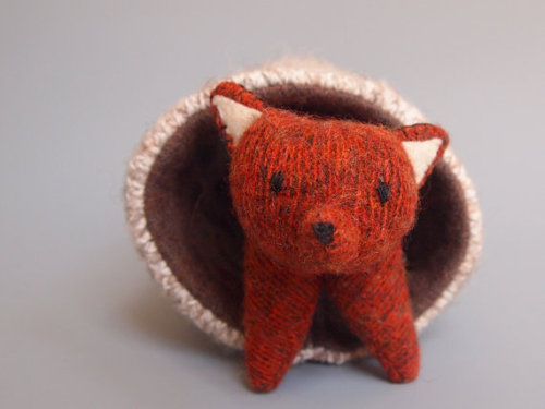 Red Fox Waldorf Wool