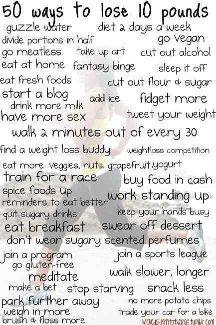 health / 50 ways to lose weight