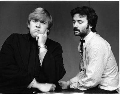 nedhepburn:  A 23 John Candy with a 22 year old Bill Murray.