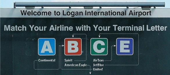 Airlines change terminals at Logan Airport - Call it the airport shuffle. As Southwest takes over AirTran, United and Continental merge, JetBlue expands in Boston, and American shrinks operations here, Logan International Airport is embarking on a massive juggling act.