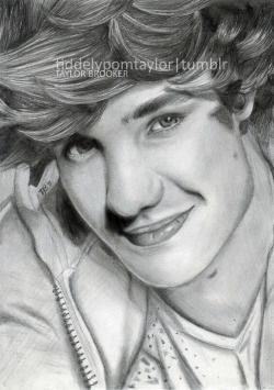 tiddelypomtaylor:  New drawing of Liam Payne :)Hope you like it!