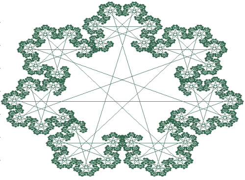 How cool is this star fractal :)