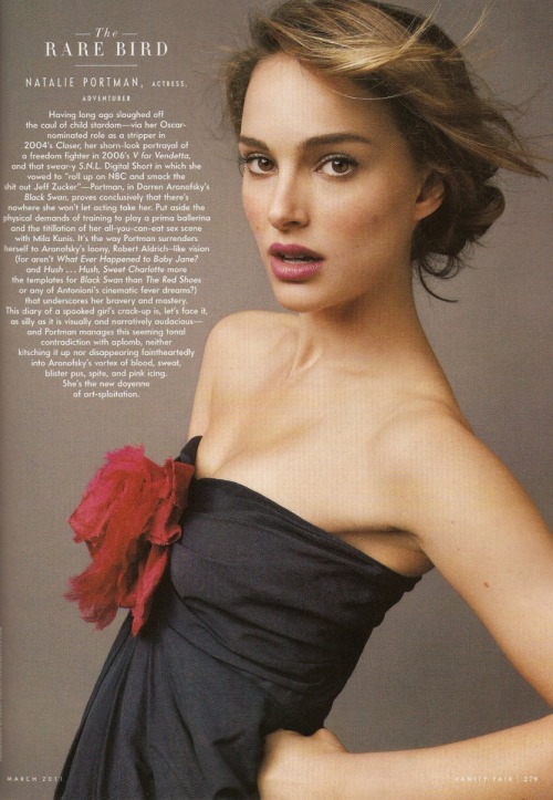 they.call.them.celebrities - editorial natalie portman . vanity fair . march 2011
