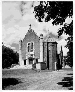 Loyola Chapel, Montreal QC. Date unknown.