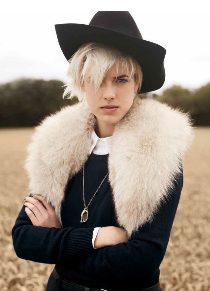 Agyness Deyn by Ben Weller
