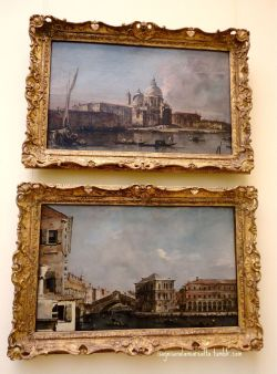 Paintings of Venice at the Metropolitan Museum in New York City