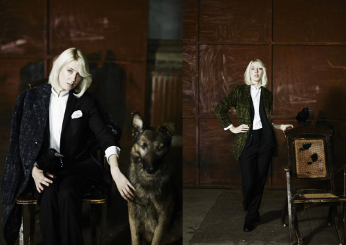 VERONICA MAGGIO FOR L`UOMO VOGUEThe October Issue is out now with Veronica.