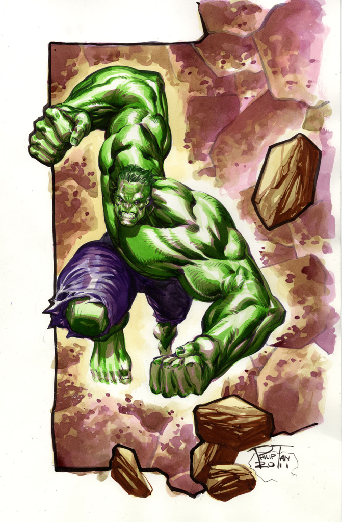 Hulk! Commission from this past NYCC.  Enjoy! :D