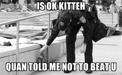 Look! my submission to Oakland Riot Cat made it online!