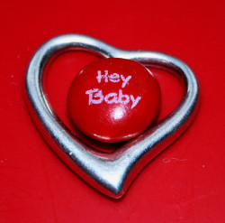 Hey Baby…I Love You! Free Heart Valentine Candy Creative Commons by Pink Sherbet Photography on Flickr.