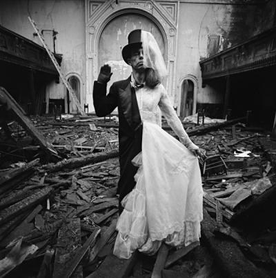 oh-phelia:  Bride and Groom by Arthur Tress