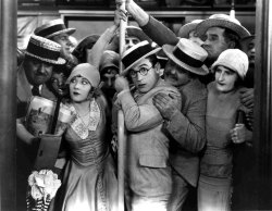 theloudestvoice:  Harold Lloyd and Ann Christy, Speedy, 1928