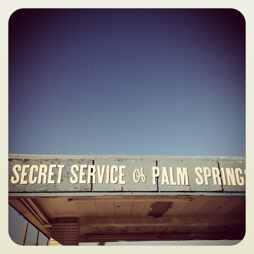 Out for lunch #iphone4s #palmsprings #iphoneography (Taken with instagram)