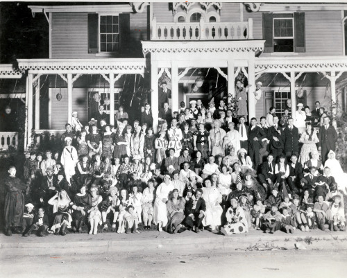 Halloween party, Baltimore, 1920