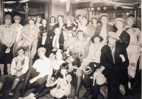 Halloween party, 1925