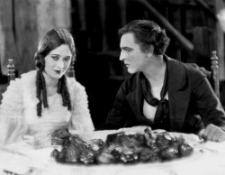 theloudestvoice:  Dolores Costello and John Barrymore, The Sea Beast, 1926