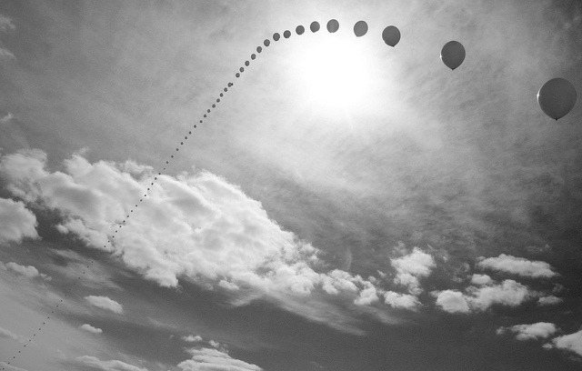 Balloon Chain (Explored) by Jeff Casemier on Flickr.
