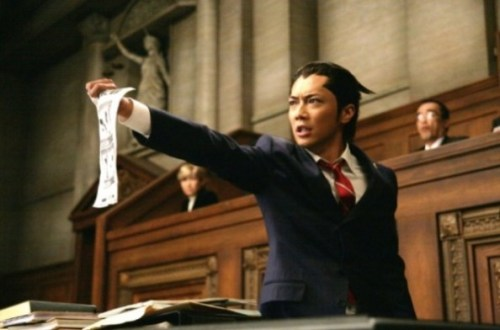 From the Liveaction of…¿Phoenix Wright?REALLY?????THIS IS FOR REAL O_O!Directed by: Takashi Miike Protagonist: Hiroki Narimiya