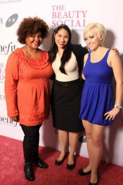 "YAY! I had the BEST time at The Beauty Social. Love these ladies!! beautylish:   ""Instead of creating the kind of conference where there's an us-and-them kind of divide, the Beauty Social was all about breaking down those walls.""  Read Afrobella's amazing  recap of The Beauty Social! (Pictured with Christine from Temptalia and xSparkage)"