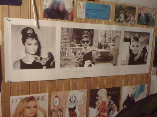 Bought this Audrey Hepburn poster today at school. I love when Imaginus comes to Dawson