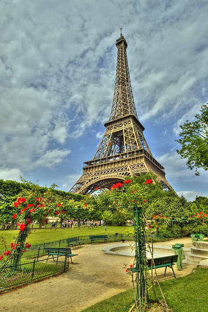Eiffel Tower by JD's Photography; New Gig Little Time on Flickr.