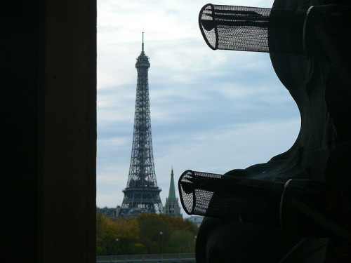 Eiffel tower, Paris by lgp2 on Flickr.