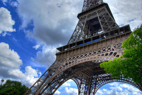 Eiffel Tower - Day by mshanenum2 on Flickr.