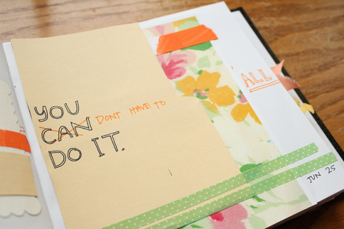you (don't have to) do it all (detail) by katie licht on Flickr. via shesherealready: thanks for posting this, Kara. ;)