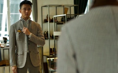 Hunting sportcoats in Hong Kong - Ring Jacket for The Armoury