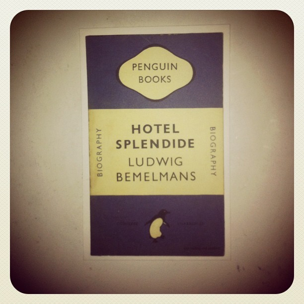 hotel splendide #ludwigbemelmans #1948 #penguinbooks #bookoftheday #igdaily #instagramers #instamood #instagood #igers #iphoneonly #iphone4 #instadaily #instagramhub #igersturkey #igersistanbul #ig #instago #webstagram #theinstagrampic #gang_family #james_favorites #gmy #photodujour #bestoftheday #picoftheday #popularpage #postcard  (Taken with instagram)