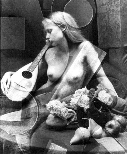Victor Friedman - Nude with mandolin, 1996