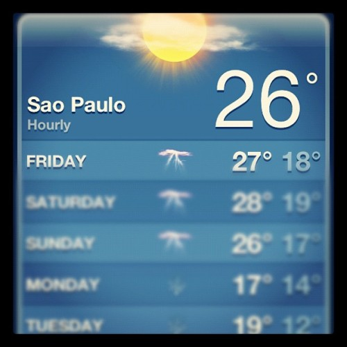 Migrating to Brazil is so appealing right now (Taken with instagram)