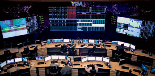 A rare trip inside Visa's top-secret security center. Location: We can't say.